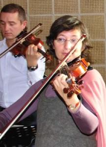 Liana Mogilevskaja während einer Fortbildungsveranstaltung in der Akademie Remscheid